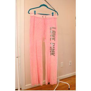 Victoria Secret PINK Velour Track Suit Bottoms